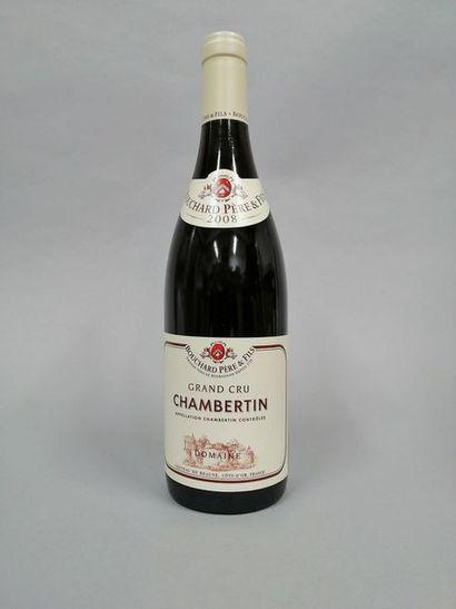 1 bouteille CHAMBERTIN, Bouchard P&F 2008...