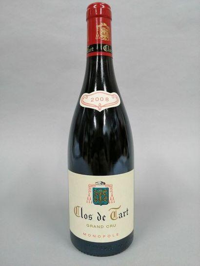 1 bouteille CLOS DE TART, Mommessin 2008...