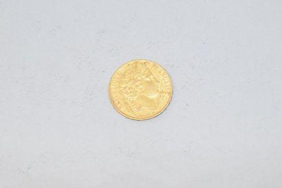 Pièce en or de 20 francs