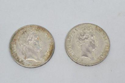 Louis-Philippe (1830-1848) 5 Francs tête...