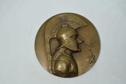 [ ARTHUS BERTRAND ]    Médaille uniface en...