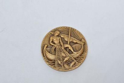 [ ARTHUS BERTRAND ] [ GEORGES GUIRAUD ]  Médaille...
