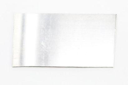 Plaque de platine.  Poids : 144.57 g.
