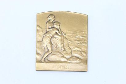 P. LENOIR (1879-1953)  Médaille en bronze...