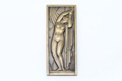 André LAVRILLIER (1885-1958)  Plaque commémorative...
