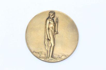 M. DAMMANN.  Médaille en bronze à l'effigie...