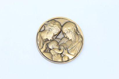Maurice Delannoy (1885-1972)  Médaille uniface...