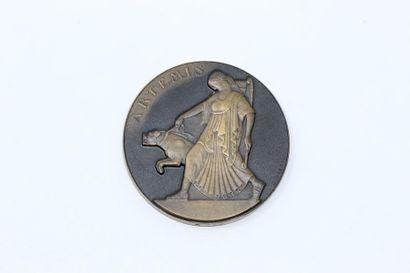 Claude Léon Mascaux  Médaille en bronze à...