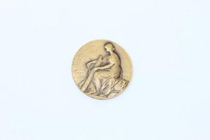 LEFEBVRE Hippolyte  Médaille en bronze à...