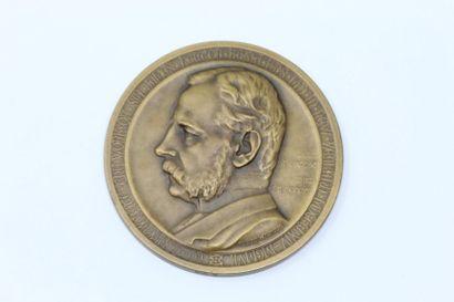 Allan Wyon  Médaille en bronze commémorant...