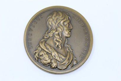 Thomas Bernard  Médaille en bronze à double...