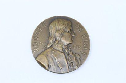 A.Borrel  Médaille en bronze commémorant...
