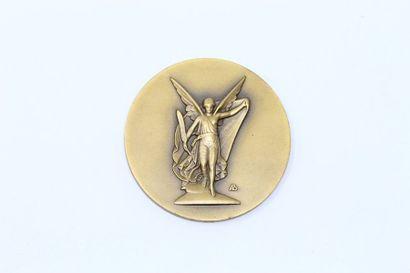 Arthus Bertrand  Médaille en bronze représentant...