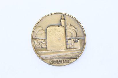 M.Delannoy  Médaille en bronze représentant...