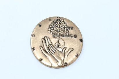 Médaille en bronze commémorant l'enseignement...