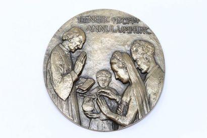 Henri BOUCHARD  Importante médaille en bronze...
