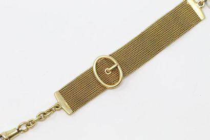 Bracelet pour enfant en or jaune 18k (750)...