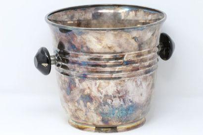 WMF Seau à champagne en métal argenté, les...