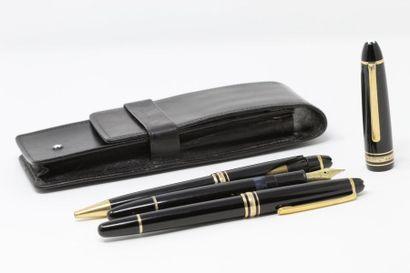MONTBLANC  Trois stylos modèle