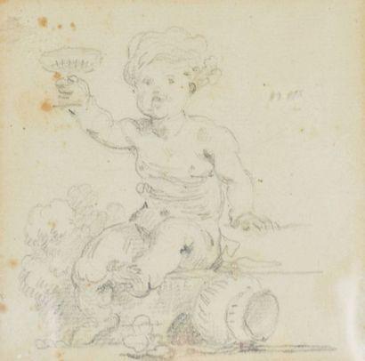 HALLE NOËL (Attribué à)  Paris 1711 - 1781...