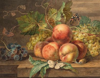 VAN LEEN WILLEM  Dordrecht 1753 - 1825  Pommes...