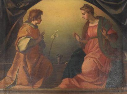 SARTO ANDREA DEL (D'après)  1486 - 1530  L'Annonciation...