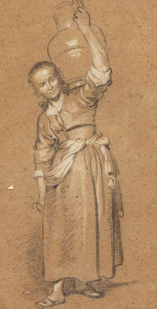 METSU GABRIEL (attribué à)  Leyde 1629 -...