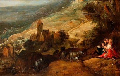 MOMPER JOOST DE (Attribué à)  Anvers 1564...