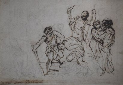 GABBIANI DOMENICO (attribué à)  Florence...