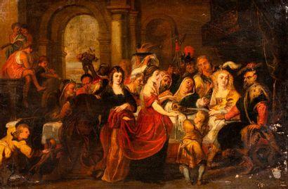 RUBENS PIERRE - PAUL (D'après)  1577 - 1640...