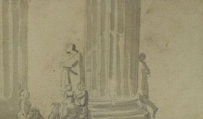 BOISSIEU JEAN - JACQUES DE (attribué à)  1736...