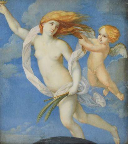 RENI Guido (D'après)  1575 - 1642    La Fortune...