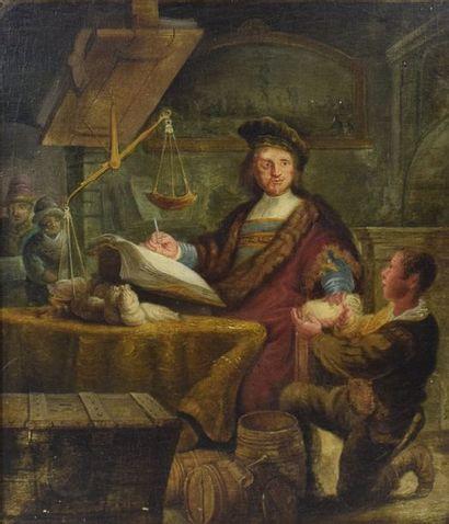 REMBRANDT Herman van Rijn (D'après)  1606...