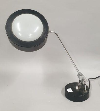 JUMO  Lampe de table à bras pivotant en métal...