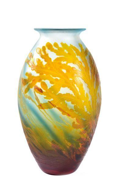 ETABLISSEMENTS GALLE (1904-1936)  Vase ovoide...