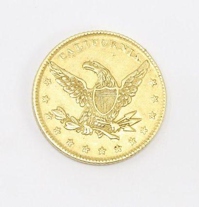 Pièce en or de 10 dollars Miners Bank (1849)....