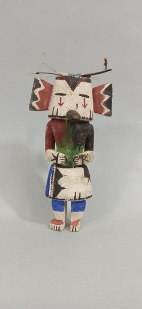 Kachina HONAN (Kachina blaireau) HOPI (Arizona...