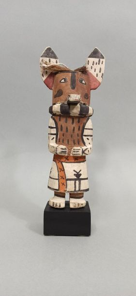 Kachina KWEO (Kachina loup) HOPI (Arizona...