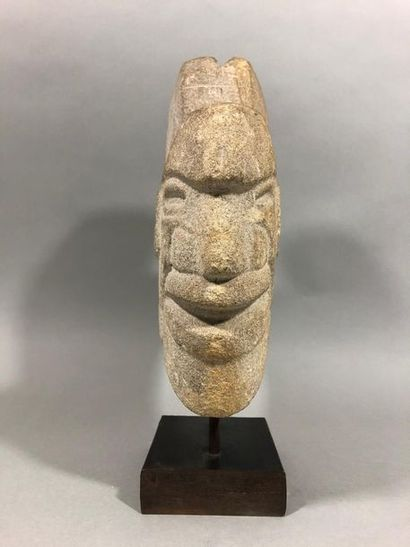 Atcha en pierre OLMEQUE, Mexique, Début Xxe...
