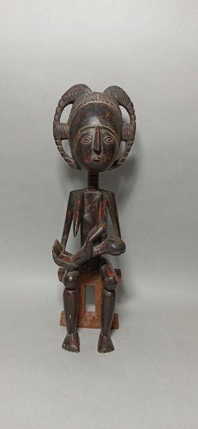 Maternité AKAN, Côte d'Ivoire  Sculpture...