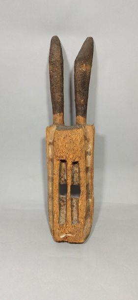 Ancien masque WALU, Dogon (Mali), fin XIXème...