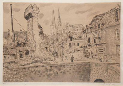 SOULAS Louis Joseph, 1905-1954,  Destructions...