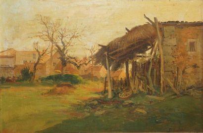 ANGLADE Gaston, 1854-1919,  Appentis dans...