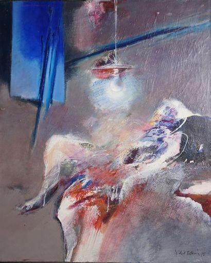 BARDIN Michel, né en 1939 Sous la lampe paire...