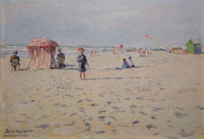 BLUMER Lucien Charles, 1871-1947,  Scène...