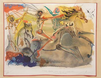 DALI Salvador, 1904-1989, Les cavaliers de...