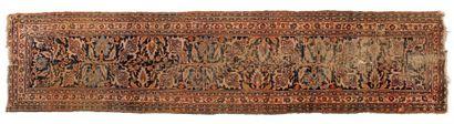 Galerie Agra fragmentée (INDE), début du...