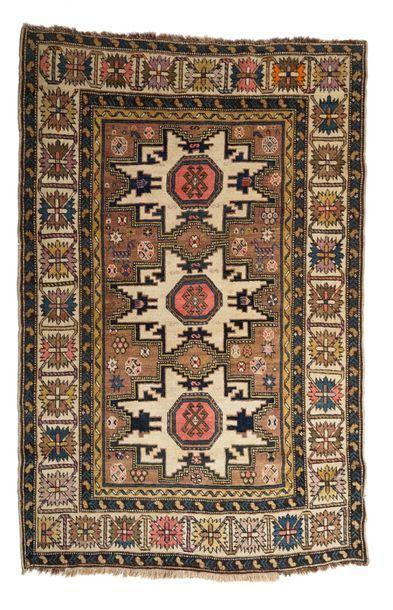 Lesghi (CAUCASE), fin du XIXe siècle.  Caractéristiques...