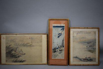 CHINE - JAPON, (XXème siècle)  Réunion de...