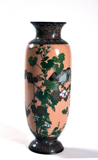 JAPON, Epoque MEIJI (1868 - 1912)  Vase à...